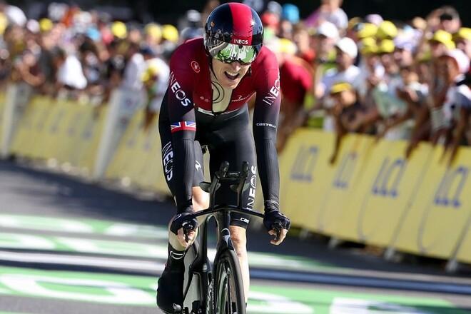 ВИДЕО. Велогонщик упал за 50 м до финиша и упустил победу