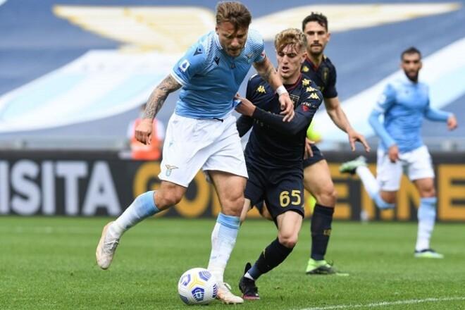 Лацио – Дженоа – 4:3. Перестрелка в Риме. Видео голов и обзор матча