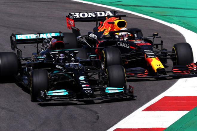 Хэмилтон красиво выиграл Гран-при Португалии, борьба Мерседеса и Ред Булла