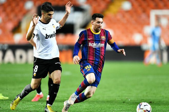 Дубль Мессі! Перемігши Валенсію, Барселона продовжує гонку за лідером