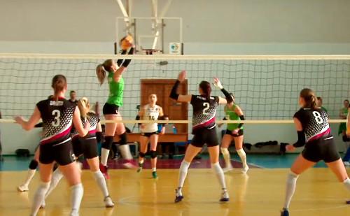Волейболистки из Каменского одержали 14 победу в 14 матчах