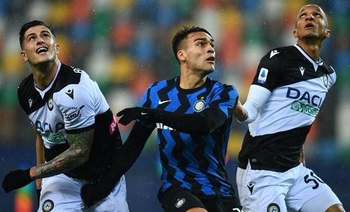 Удинезе — Интер — 0:0. Видеообзор матча