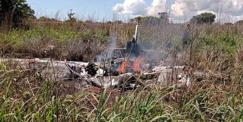 Разбился самолет бразильского клуба. Погибло четыре игрока и президент