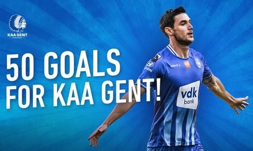 Яремчук помог Генту выиграть в матче чемпионата Бельгии