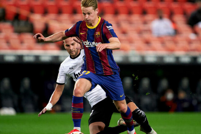 Валенсия – Барселона – 2:3. Видео голов и обзор матча
