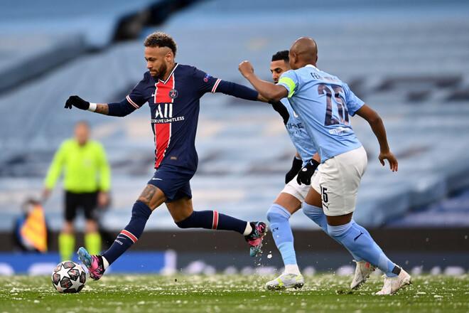 Манчестер Сити - ПСЖ - 2:0. Текстовая трансляция матча