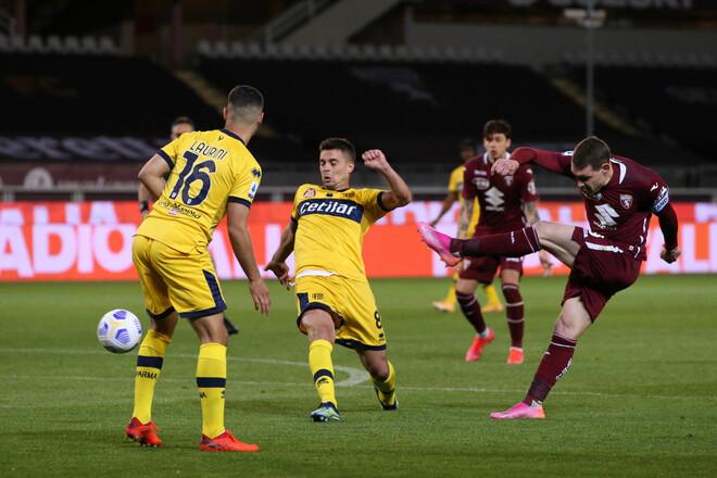 Торино – Парма – 1:0. Видео гола и обзор матча