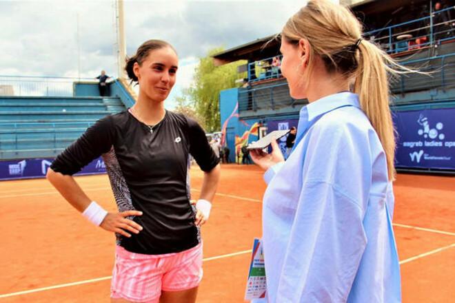 Калинина прокомментировала победу над россиянкой в финале турнира в Загребе