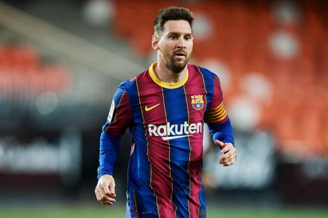 Месси готов подписать двухлетний контракт с Барселоной
