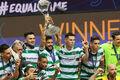 Спортинг обыграл Барселону в финале Лиги чемпионов по футзалу