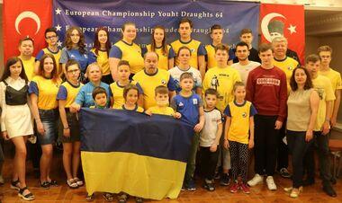 Українці завоювали 55 медалей на молодіжному чемпіонаті Європи з шашок-64