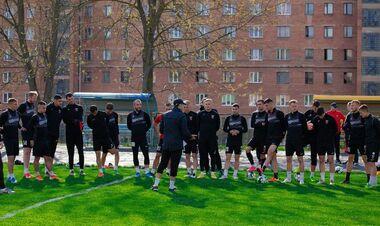 Верес вновь тренируется в Ровно
