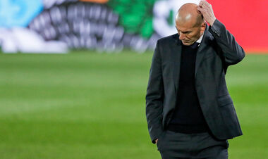 ВІДЕО. Реакція Зідана на виліт Реала з Ліги чемпіонів