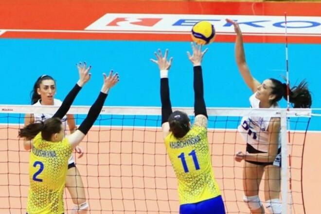 Женская сборная Украины сыграла два контрольных матча в Греции