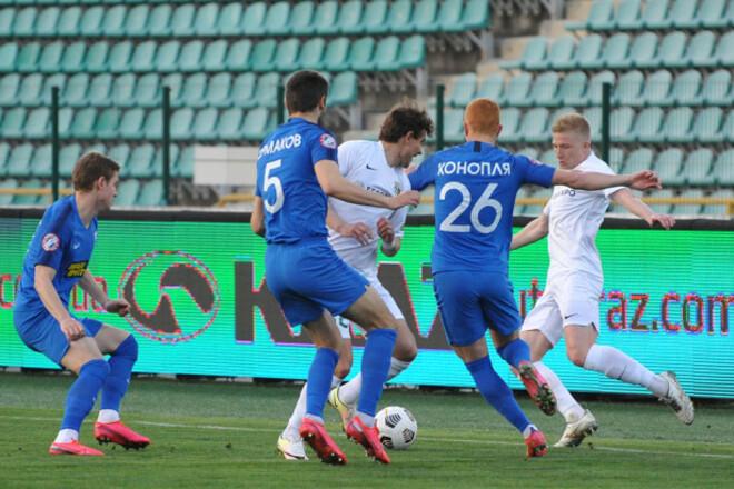Ворскла - Десна - 1:1. Битва за еврокубки. Видео голов и обзор матча