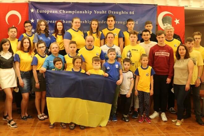 Украинцы завоевали 55 медалей на молодежном чемпионате Европы по шашкам-64