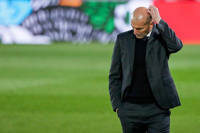 ВИДЕО. Реакция Зидана на вылет Реала из Лиги чемпионов