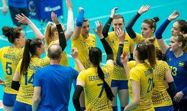 Украинские волейболистки начинают отбор к чемпионату Европы