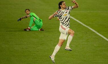 Рома – Манчестер Юнайтед. Видео гола Кавани