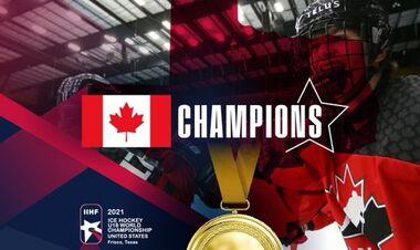 Юниорский ЧМ по хоккею. Канада обыграла Россию и взяла золото