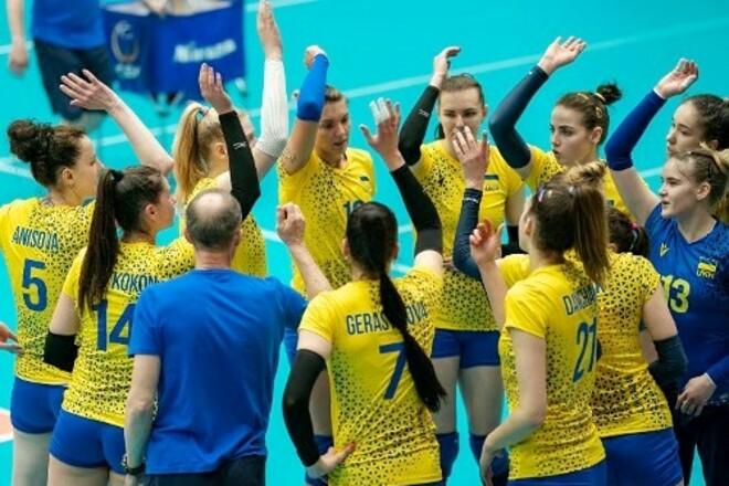 Українські волейболістки починають відбір до чемпіонату Європи