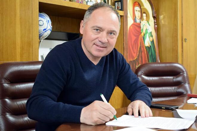 ОФИЦИАЛЬНО. Ворскла подписала новый контракт с тренером Косовским