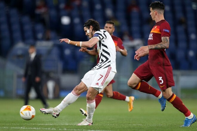 Манчестер Юнайтед проиграл в Риме, но вышел в финал Лиги Европы
