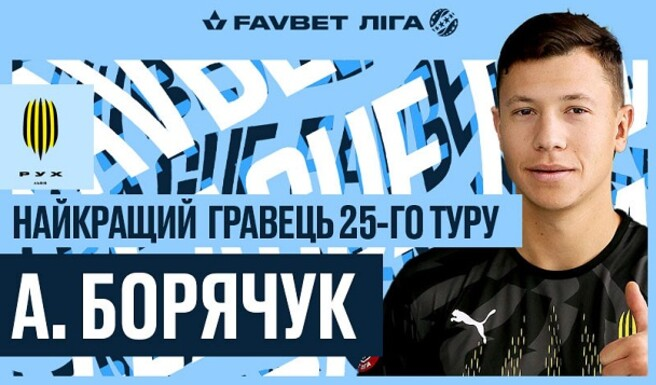 Борячук и Скрипник – игрок и тренер тура в УПЛ