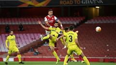 Арсенал – Вильярреал – 0:0. Две штанги Обамеянга. Видеообзор матча