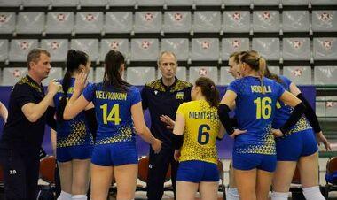Волейболистки сборной Украины начали с победы отбор на чемпионат Европы