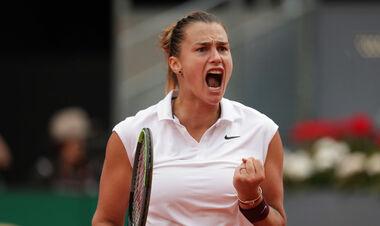 Соболенко виграла турнір в Мадриді, обігравши в фіналі першу ракетку світу