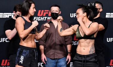 UFC: Марина Родригес – Мишель Уотерсон. Смотреть онлайн. LIVE трансляция
