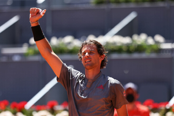 ATP Мадрид. Далі без Надаля. Стали відомі всі учасники 1/2 фіналу
