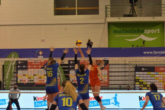 ФОТО. Португалия – Украина. Как волейболистки удачно начали евроотбор