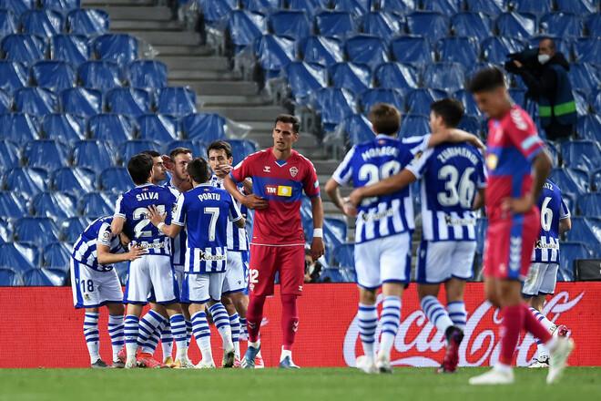 Реал Сосьєдад – Ельче – 2:0. Давид Сільва на рівні. Відео голів і огляд гри