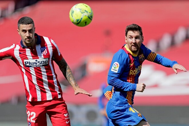 Барселона - Атлетико - 0:0. Текстовая трансляция матча