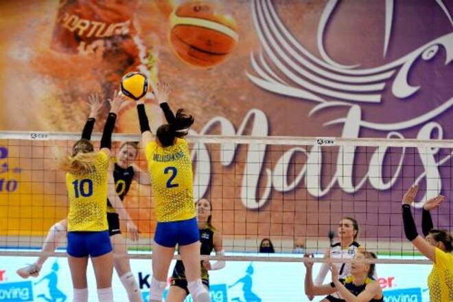 Женская сборная Украины проиграла Швеции в матче отбора Евро-2021