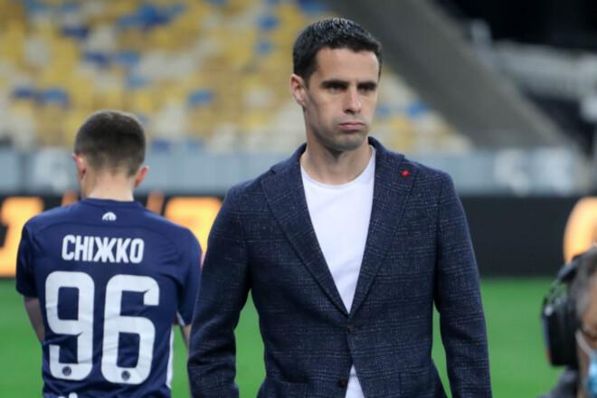 Тренер Миная: «Настроение в команде не из лучших»