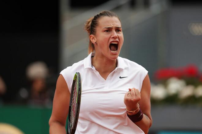 Соболенко выиграла турнир в Мадриде, обыграв в финале первую ракетку мира