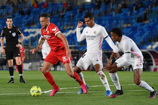 Реал – Севилья – 2:2. Текстовая трансляция матча