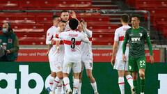 Штутгарт – Аугсбург – 2:1. Видео голов и обзор матча