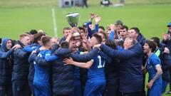 ВІДЕО. Гравці Динамо U-21 святкують останній титул молодіжного чемпіонату