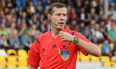 Финал Кубка Украины рассудит скандальный арбитр из Донецкой области