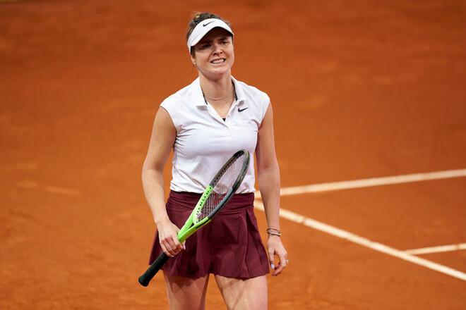 ФОТО. Свитолина готовится к старту турнира в Риме