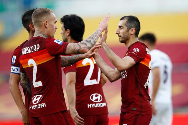 Рома – Кротоне – 5:0. Видео голов и обзор матча