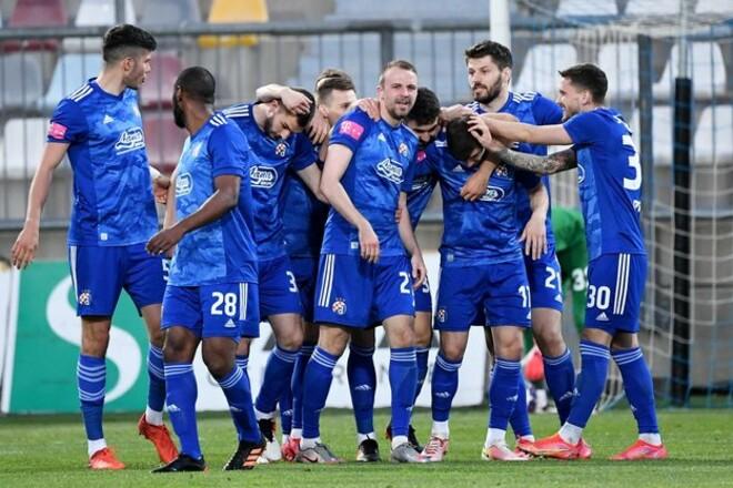 Динамо Загреб в 22-й раз завоевало титул чемпиона Хорватии