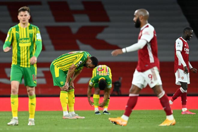 Арсенал – Вест Бромвич – 3:1. Видео голов и обзор матча