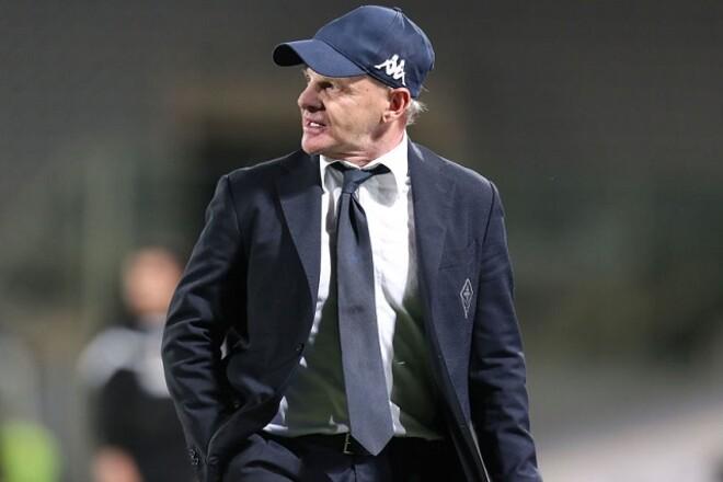 Наставник Фиорентины покинет клуб в конце сезона