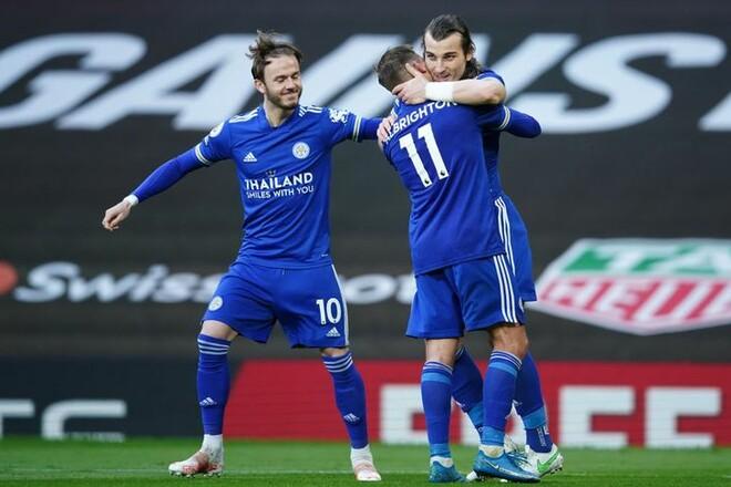 «Блакитна» половина Манчестера радіє! Юнайтед поступився Лестеру
