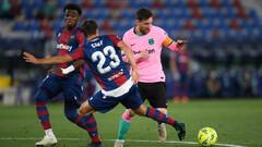 Вели в два мяча. Барселона упустила большой перевес в игре с Леванте